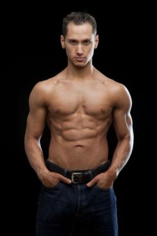 Matt McGorry shirtless - washboard abs - orange is the new black