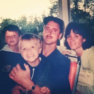 aaron ekblad family - young boy - photocredit aaronekblad5 instagram
