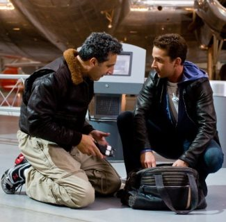 agent simons leather jacket - transformers 3
