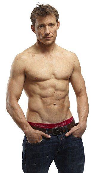 ben shephard underwear calvin klein - shirtless british presenters