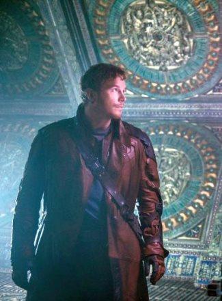 chris pratt leather jacket - guardians movie