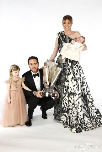 jimmie johnson family - wife and kids