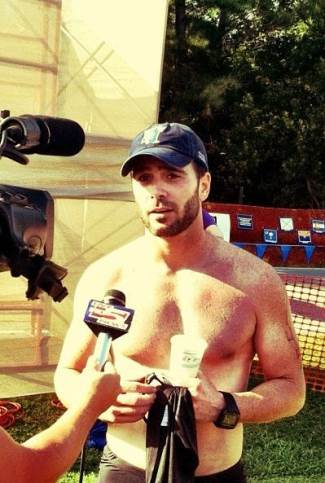 jimmie johnson shirt off