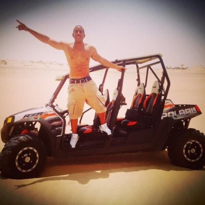 ludacris shirtless in abu dhabi