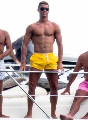 mens short shorts 2014 - cristiano ronaldo