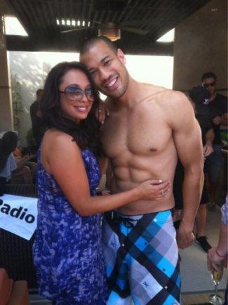 michael yo shirtless body - washboard abs - fake or real