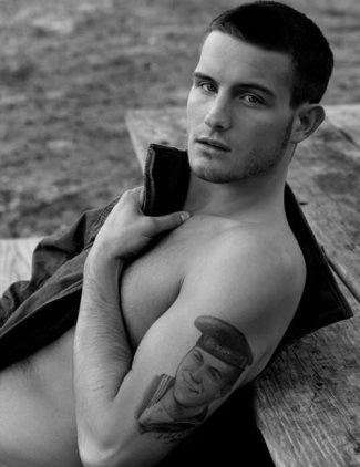 nico-tortorella-sexy-shirtless-the-following by bruce weber for abercrombie