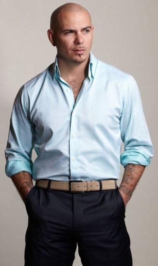 pitbull fashion chest hair