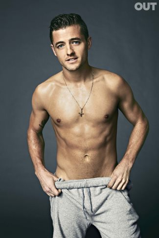 robbie rogers shirtless sexy footballer