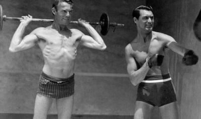 sexy mens shorts - Cary-Grant and randolph scott
