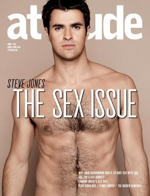 steve jones shirtless british tv presenter