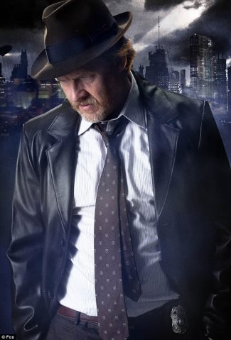 Donal Logue as Detective Harvey Bullock - gotham leather jacket
