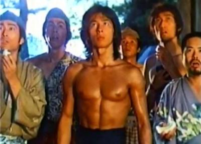Hiroyuki Sanada no shirt - shoguns ninja - 1980s movie
