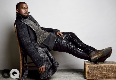 Kanye West leather pants - cost is 1399 dollars by En Noir