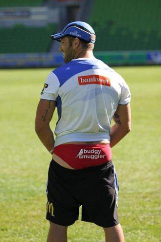 Matt Hodgson budgy smuggler speedo - Wallabies and Super Rugby team the Western Force