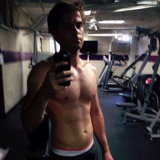 Nathaniel Buzolic shirtless - underwear waistband