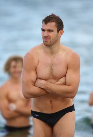 Stewart Crameri speedo rugby - western bulldogs - afl