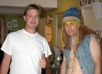 Tim Heidecker and Bob Odenkirk as Wizzard