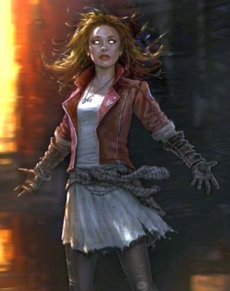 age of ultron leather jacket - Scarlet Witch - Wanda Maximoff - concept art