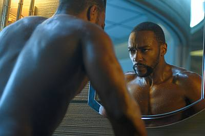 anthony mackie shirtless altered carbon