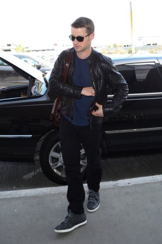 ben mckenzie leather jacket
