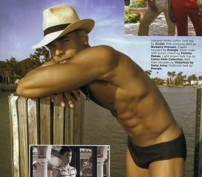 black men wearing speedo swimsuits - Kennie Franklin