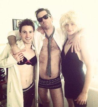 brett dier dressed as a woman