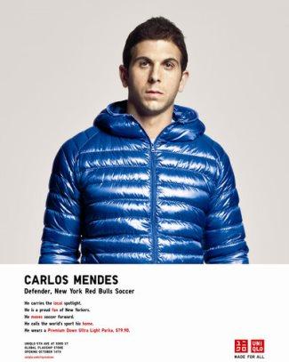carlos mendez endorsements - uniqlo