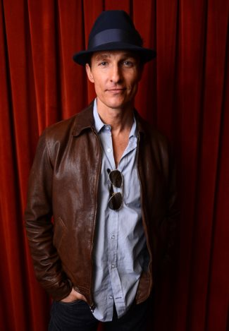 celebrities wearing fedora hats - matthew mcconaughey - at sxsw 2013