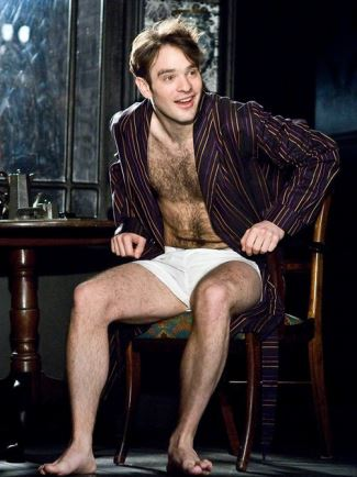 charlie cox shirtless - chest hair
