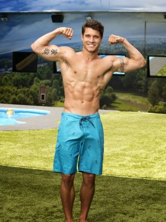 cody calafiore gay shirtless muscles - bulge
