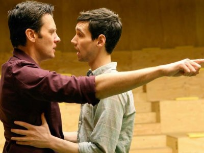 cory michael smith - gay in broadway theater play cock2