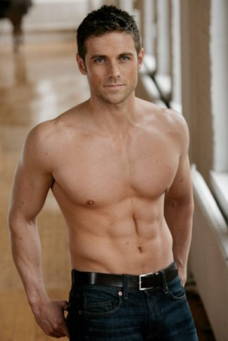 dylan bruce washboard abs