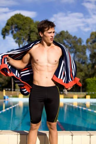harley bonner speedo - nike jammer swimsuit