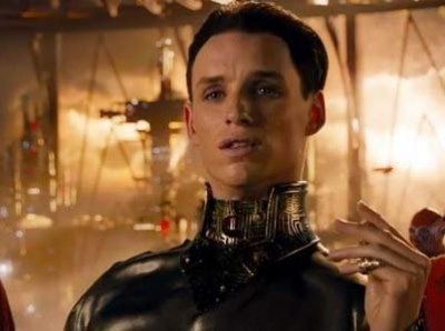 jupiter ascending leather outfit on eddie redmayne