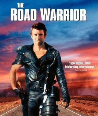 mad max leather jacket on mel gibson - Mad Max 2 The Road Warrior - 1981