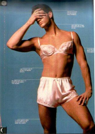 men wearing panties - dr whites man in womans underwear