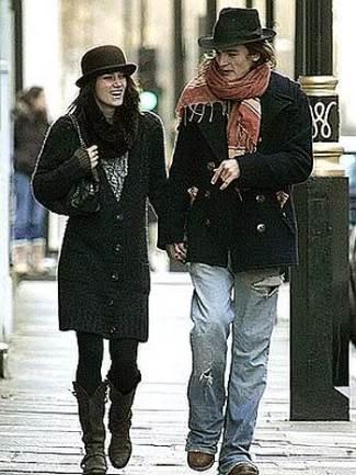 men wearing fedora - Rupert Friend wears Christys Hats Slick Fedora