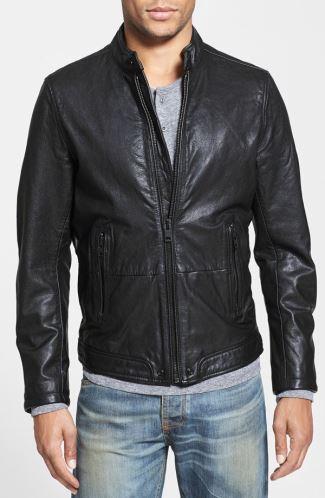 mens leather jacket sale 2014-15 - diesel at nordstrom