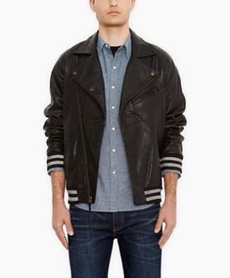 mens leather jacket sale - levis discount - 2014