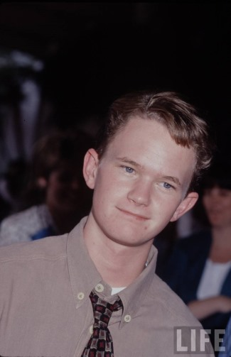 neil patrick harris before plastic ear surgery - young