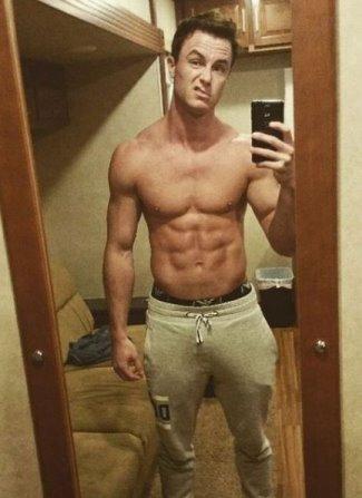 ryan kellley shirtless abs