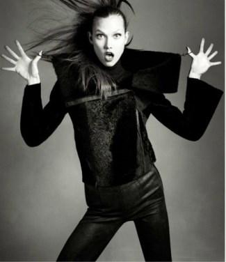 latest best skinny leather pants - Karlie Kloss