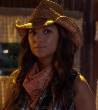 top cowboy hats for girls - stetson bridger cowboy hat on emily fields - pretty little liars