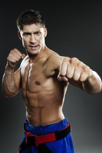 Alain Moussi body - kickboxer