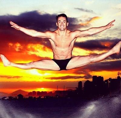 Diego Hypolito gymnastics underwear