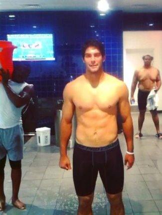 Jimmy Garoppolo shirtless body