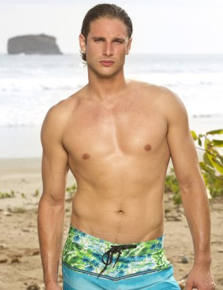 drew christy shirtless - survivor - san juan del sur