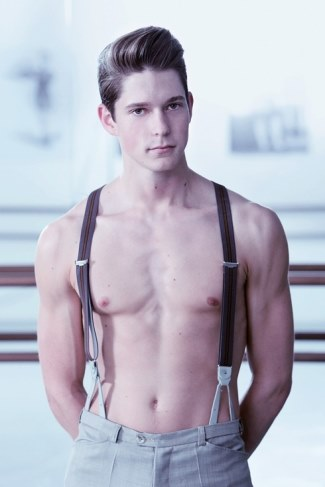 dance hunks shirtless male dancers - ballet - charlie andressen
