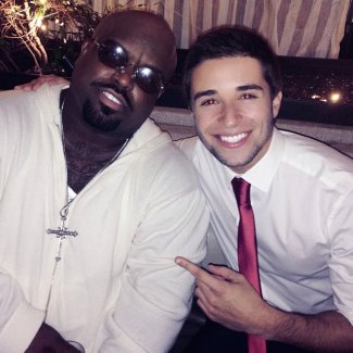 jake miller with ceelo green